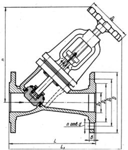 Клапан 15нж58бк1